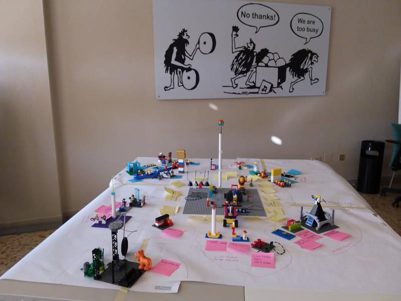 LEADERSHIP SITUAZIONALE IN AZIONE con la metodologia LEGO® SERIOUS PLAY®